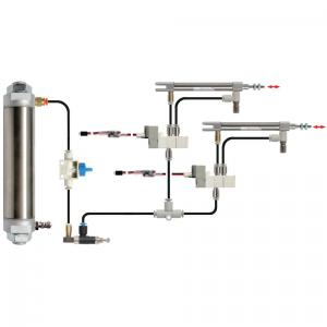 Pneumatics Kit 2 - Double Acting Cylinders