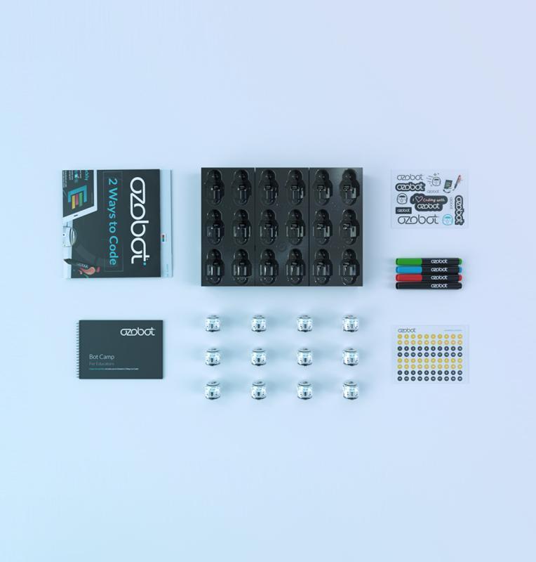 Ozobot Evo Classroom Kit, 12-pack, White