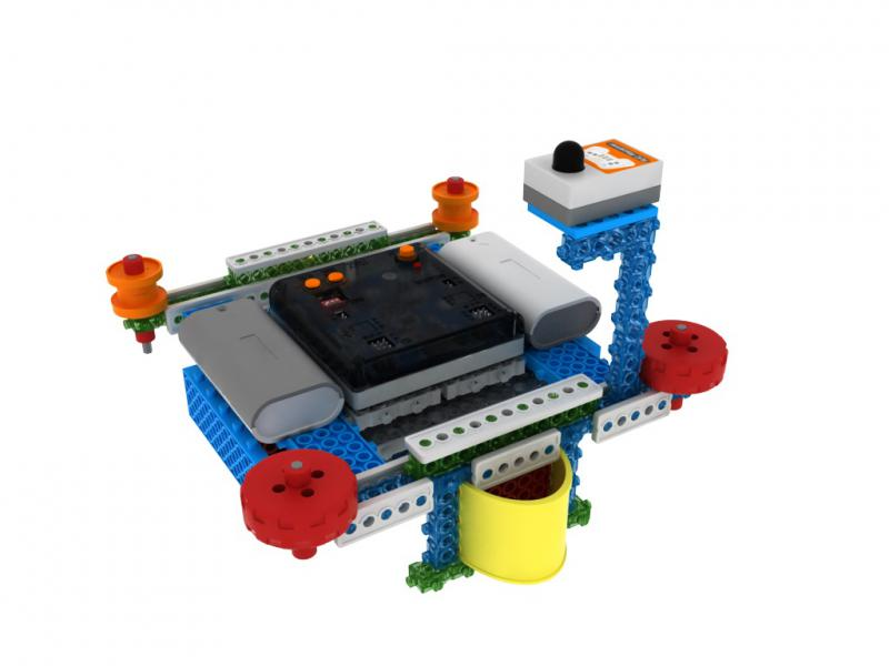 Robot Építő Készlet - MRT3-1