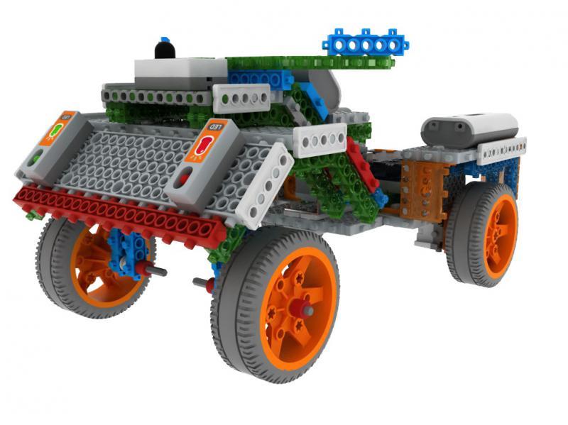 Robot Építő Készlet - MRT3-4
