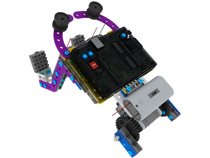 Robot Építő Készlet - MRT5-1