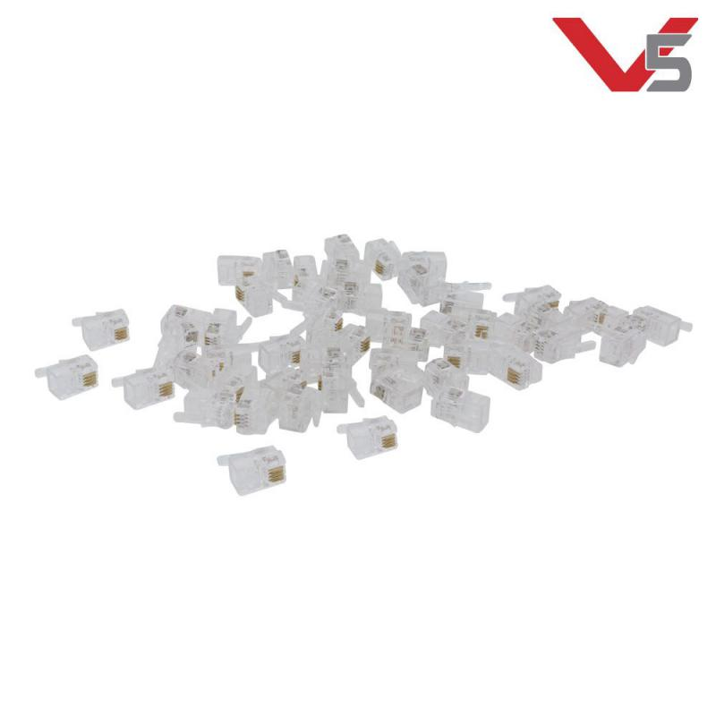 V5 Smart Cable Connectors (50-Pack)