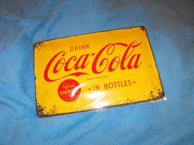 Drink Coca-cola fémtábla kicsi 20x30 (A)