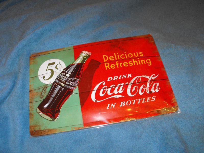 Drink Coca-cola fémtábla kicsi 20x30 (B)