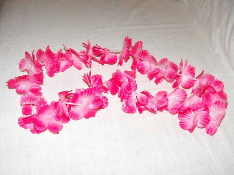 Hawaii füzér rózsaszín