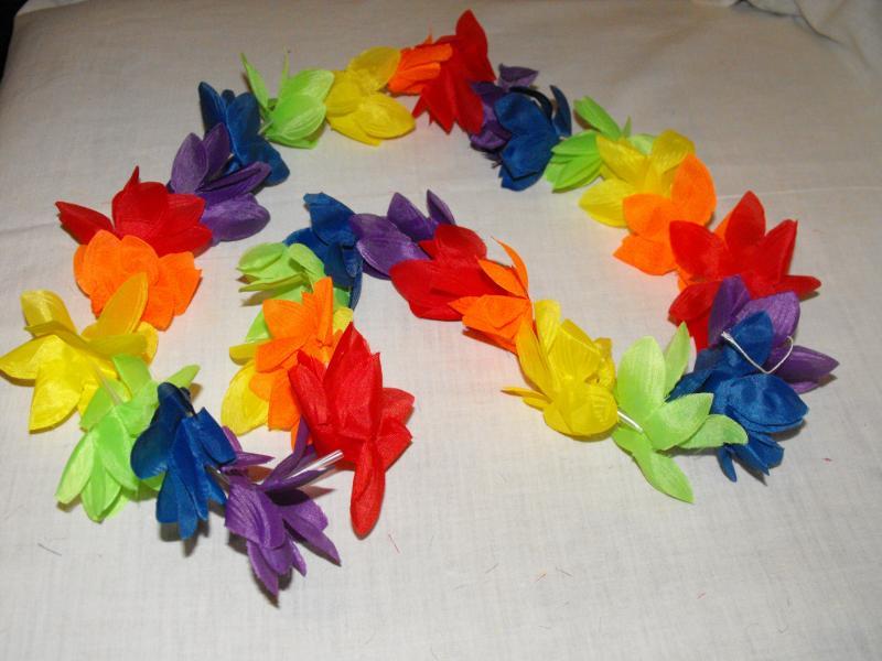 Hawaii füzér színes