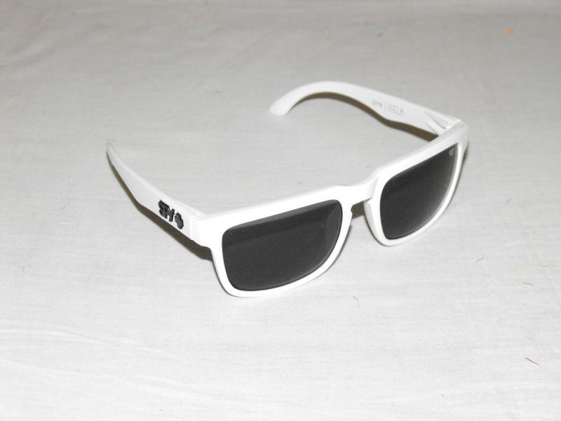Ken block napszemüveg fehér fekete spy plus