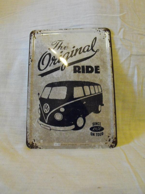 Original ride buszos fémtábla kicsi 20x30