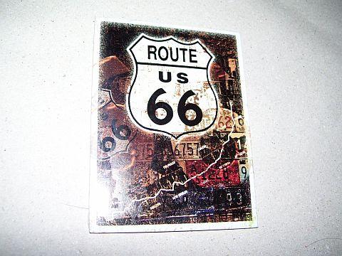 Route 66 (2) Hütőmágnes