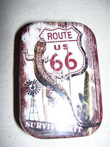 route 66 cukorka tartóval