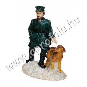 Csendőr kutyával
