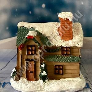 Karácsonyi falu házikó KÖZEPES 6