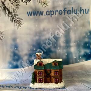 Karácsonyi falu házikó KÖZEPES 1