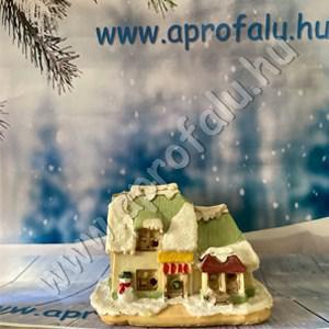 Karácsonyi falu házikó NAGY
