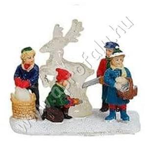 Gyerekek jégszobrot készítenek (szarvas) 6 cm