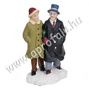 Úri pár (kék kalap) 6 cm