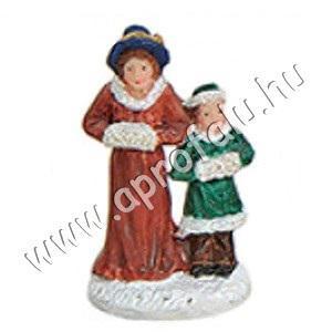 Úrinő gyermekével 4 cm