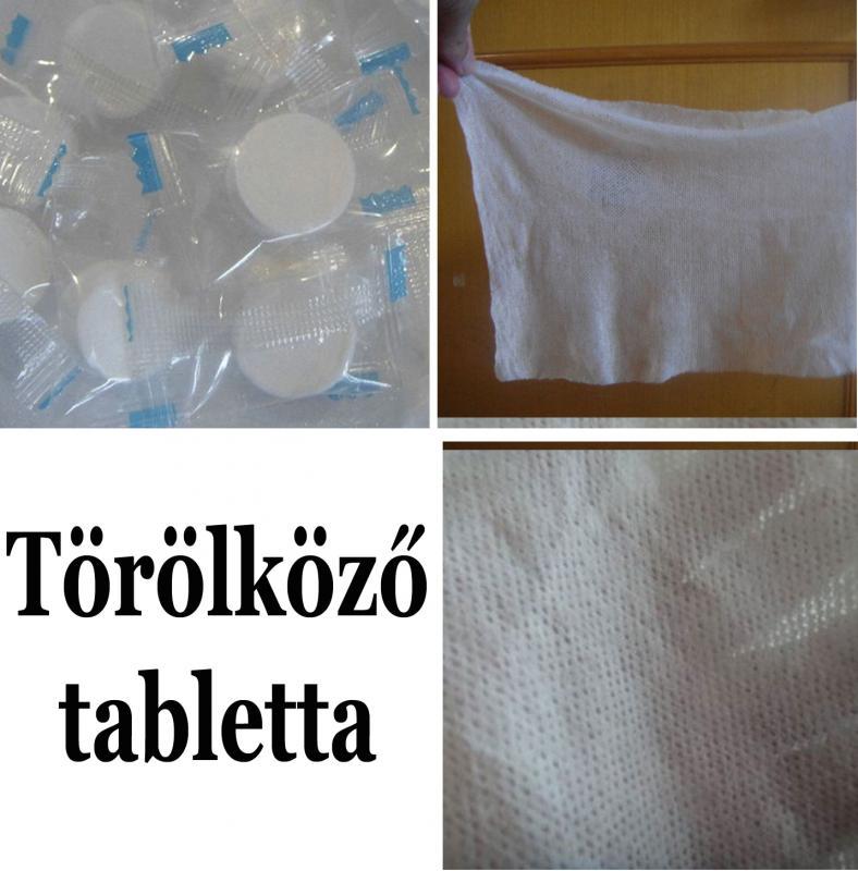 Törölköző tabletta