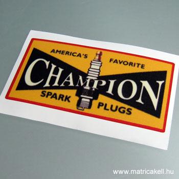 Champion matrica (retro)
