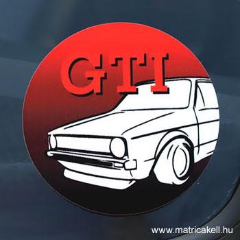 Golf MK1 GTI matrica