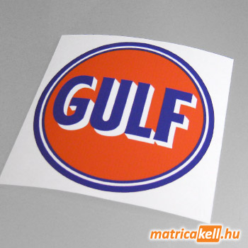 Gulf retro matrica