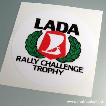 Lada Rally Trophy matrica