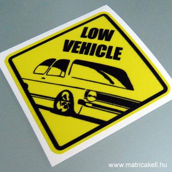 Low Vehicle Golf 1 matrica