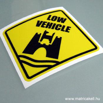Low Vehicle Wolfsburg matrica