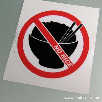 No Rice matrica