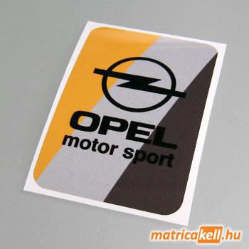 Opel Motorsport matrica