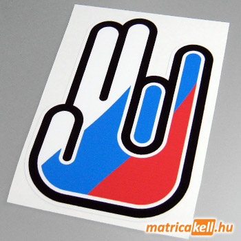Shocker matrica Orosz zászlóval