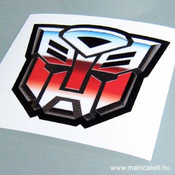 Transformers Autobot matrica