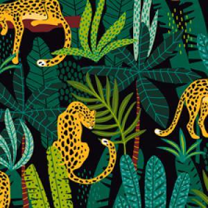Dzsungel, jungle mintás termékek