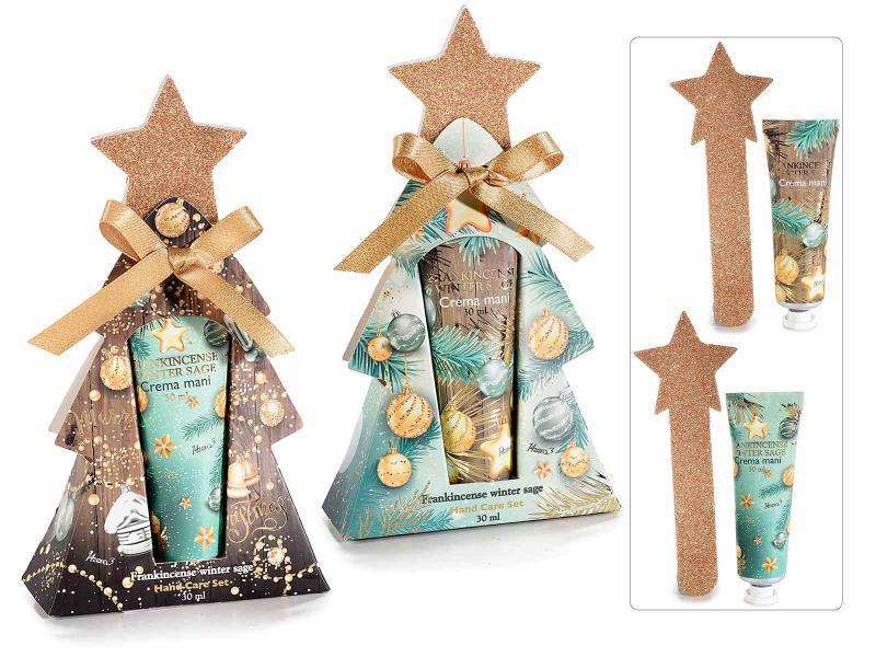 """""""Christmas"""" csomag kézkrémmel és csillagreszelővel"""