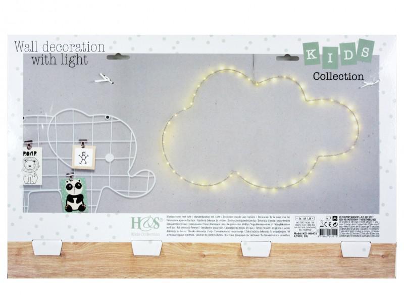 50 led-es világító felhő gyerekszobába