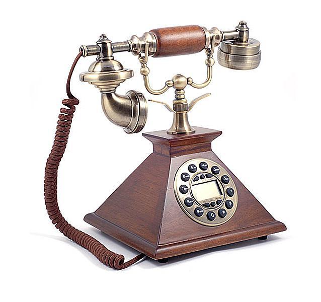 Antik hatású telefon