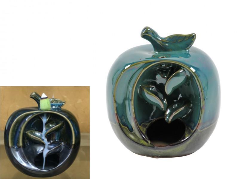 Backflow-lefelé áramló füstölőtartó alma forma