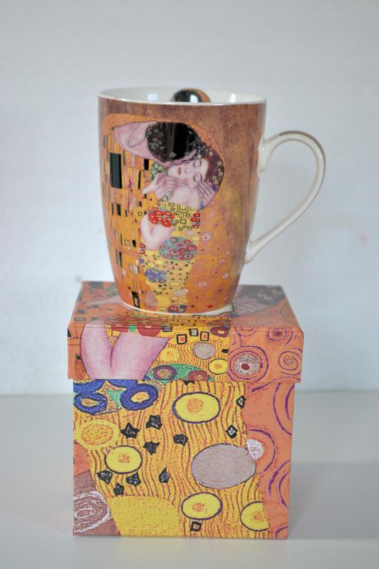 Klimt porcelán bögre 370 ml