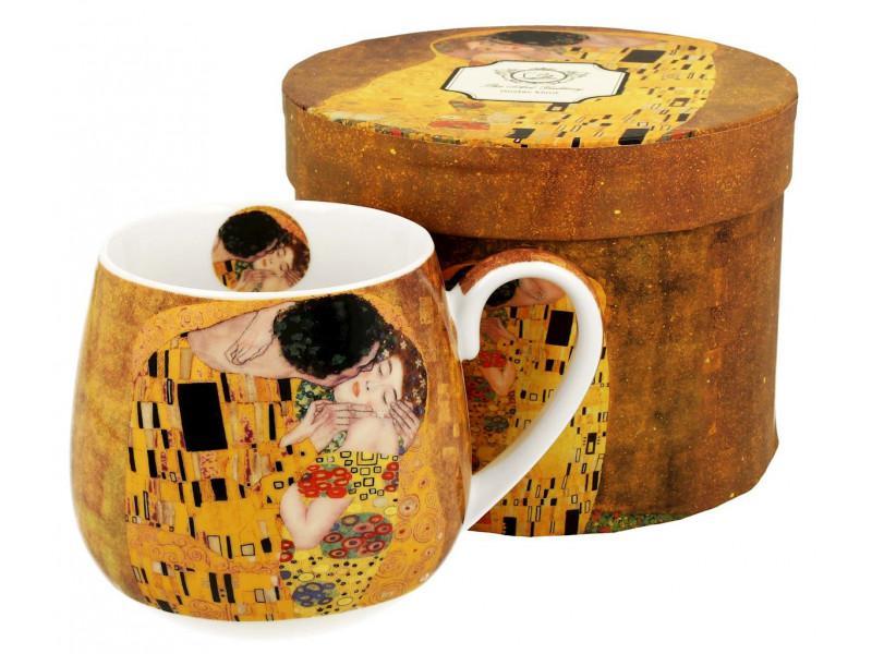 Klimt porcelán bögre 450 ml, díszdobozban
