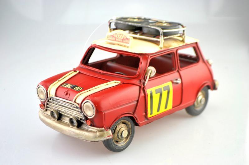 Mini Morris autó modell, makett
