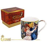 Renoir porcelán bögre díszdobozban - Tánc Bougivalban