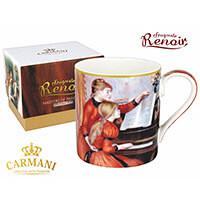Renoir porcelán bögre díszdobozban - Zongoraóra