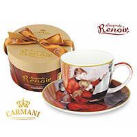 Renoir porcelán csésze aljjal - Zongoralecke