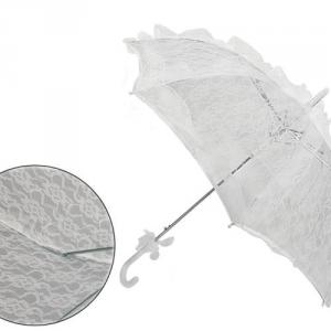 Esküvői csipke ernyő
