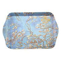 Van Gogh Mandulavirágzás vagy Íriszek műanyag kistálca - 21x14,1 cm