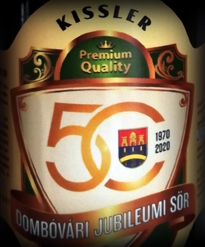 50 éves Dombóvár - 0,33L üveges-vörös sör