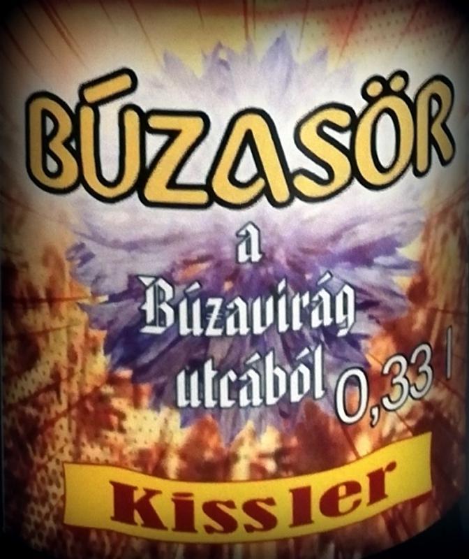 Búza sör - 0,33L üveges - szűretlen