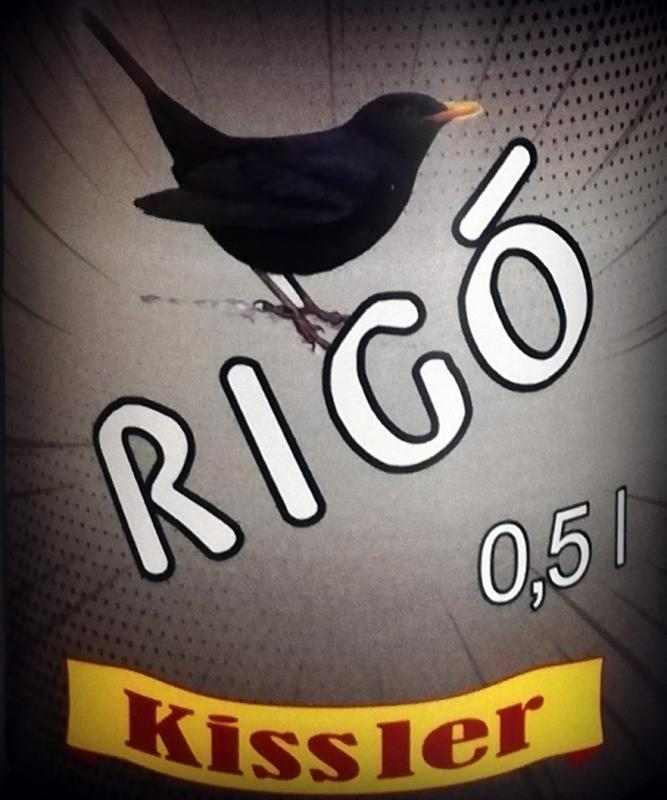 Rigó - 0,5L üveges
