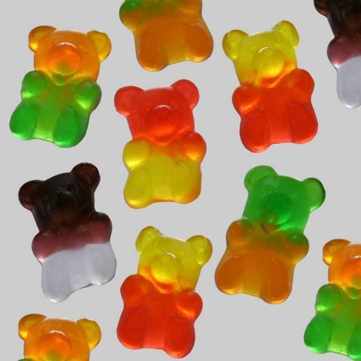 Nagy Medve kétszínű gumicukor 1000 g