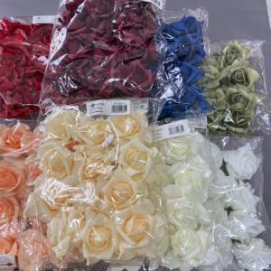 POLYFOAM félig nyílott rózsafej